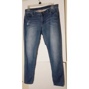 Juicy Couture Jeggings Stretch Blue Size 8